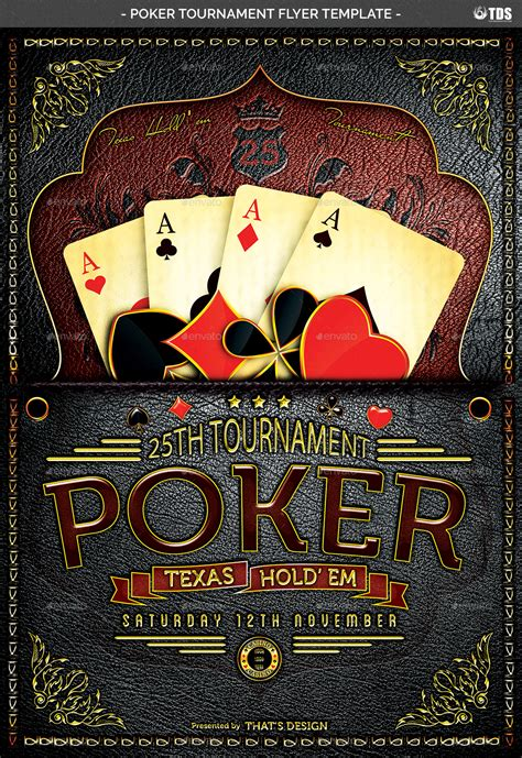 Free Poker Tournament Flyer Template