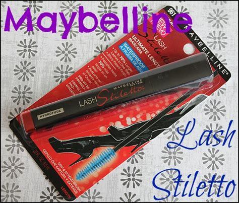 Mascara Maybelline Stiletto maybelline lash stiletto ultimate length waterproof