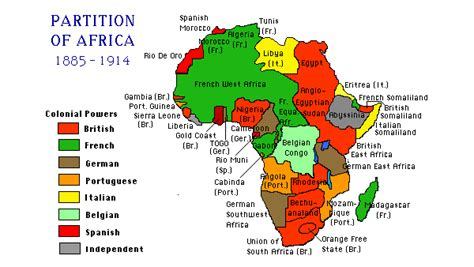pattern of colonial rule in east africa the scramble for africa berlin conference 1884 1885