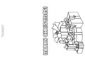 Christmas Card Templates For Children To Make 8 Best Images Of Printable Christmas Cards To Color Free
