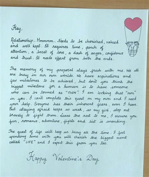 valentines letter for s letter for a workaholic