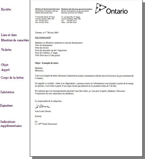 Lettre De Recommandation Francais Au Bureau Guide De R 233 Daction Et De Communication Du Gouvernement De L Ontario