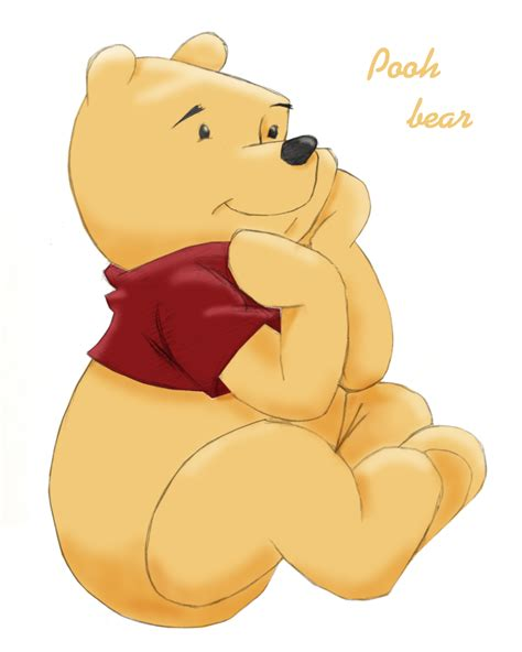 Boneka Winnie The Pooh Sitting Original winnie the pooh by faustzanuff on deviantart