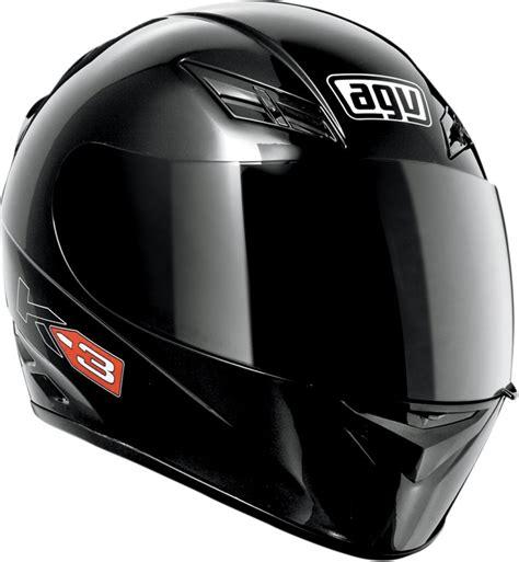 Helm Agv K3 Black Agv K3 Mono Helmet Gloss Black