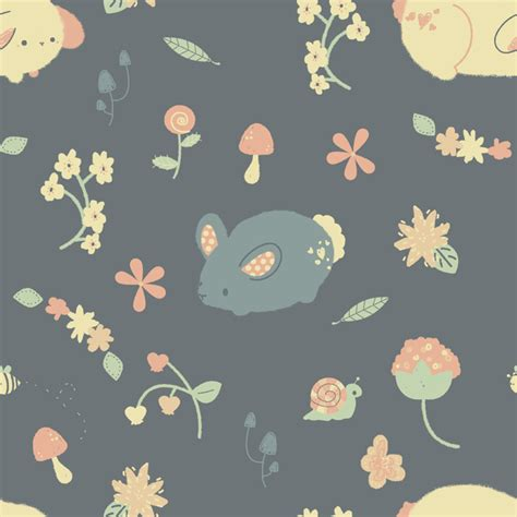cute pattern passwords bunny garden pattern by pronouncedyou on deviantart