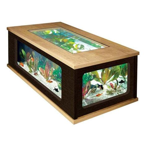Fish Tank Dining Room Table by Best 25 Fish Tank Coffee Table Ideas On