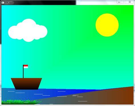 membuat gambar 3d di komputer laporan tugas komputer grafik membuat animasi 2 dimensi