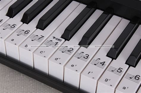 piano and keyboard note stickers keyboard stickers reviews shopping