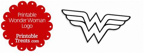 printable wonder woman logo printable treats com