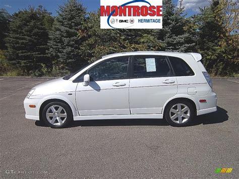 Suzuki Aerio Awd 2005 White Pearl Suzuki Aerio Sx Awd Sport Wagon 36547921