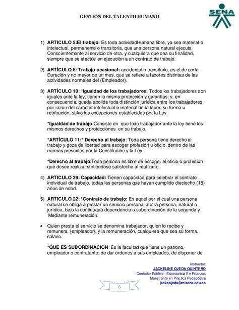 contrato ocasional contrato de trabajo ocasional codigo sustantivo de trabajo