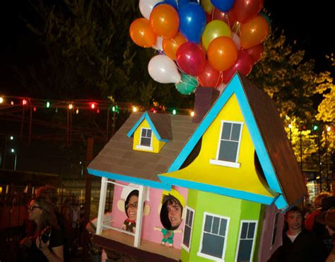 the costume house floating house from pixar s quot up quot costume green halloween