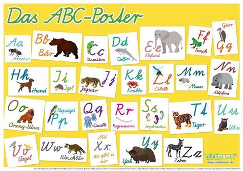 buchstaben le abc poster in german kinderpostershop