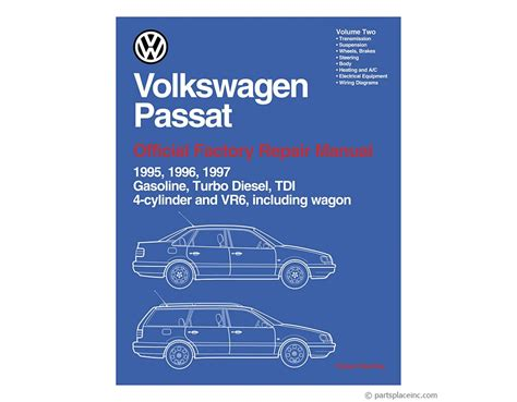 Vw B4 Passat Bentley Repair Manual Free Tech Help