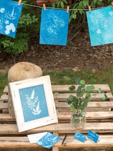 hgtv crafts easy paper craft diy sun prints hgtv