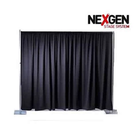 pipe and drape frame nexgen backdrop pipe frame drape 171 portable staging