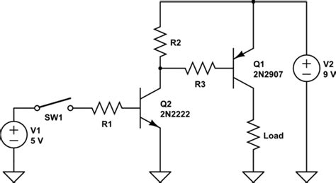 pnp transistor switch arduino voltage switching 9v using a npn transistor and an arduino electrical engineering stack exchange