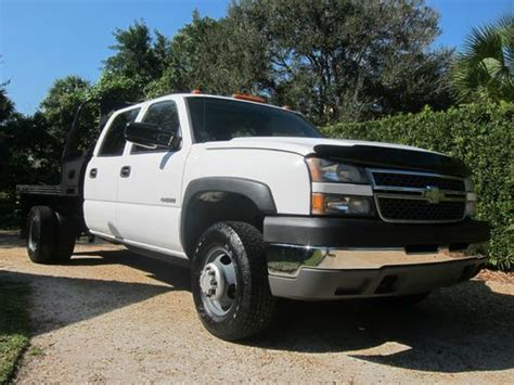 how it works cars 2005 chevrolet silverado 3500 parking system sell used 2005 chevy 3500 crew cab 4x4 4wd w warranty flatbed florida 1 owner make offer in