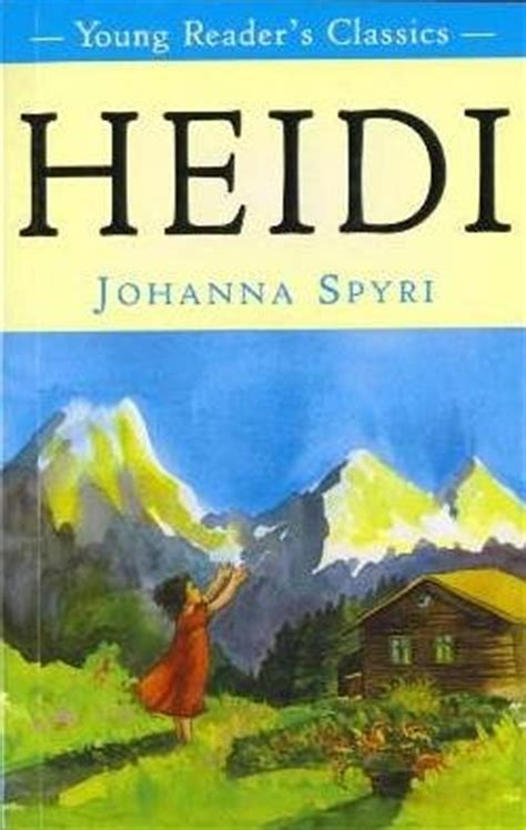 heidi book report heidi summary and analysis like sparknotes free book notes