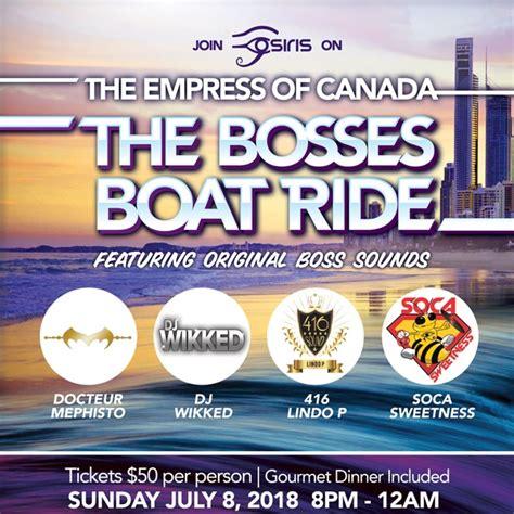 boat ride toronto the bosses boatride toronto