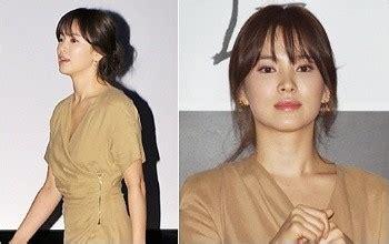 foto song hye kyo lebih gemukan kabar berita artikel