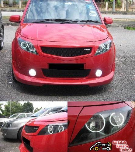 Diy Waja Satria Neo projector led ccfl headl available in malaysia