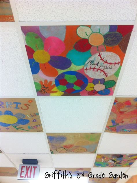 idea for tile art working griffith s 3rd grade garden parent involvement family