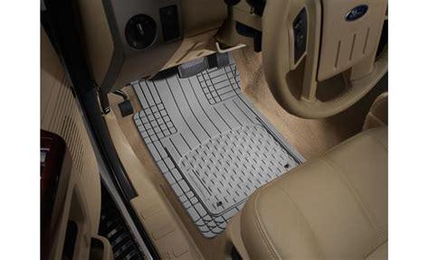 weathertech avm floor mats gray universal fit front rear floor mat set at crutchfield com