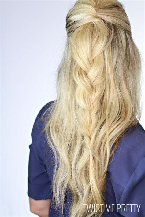 5 simple ways you can wear your braids half up half down 534 best different ways to wear your hair images on