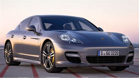 porsche panamera grey 2011 porsche panamera turbo s in dark grey front pose