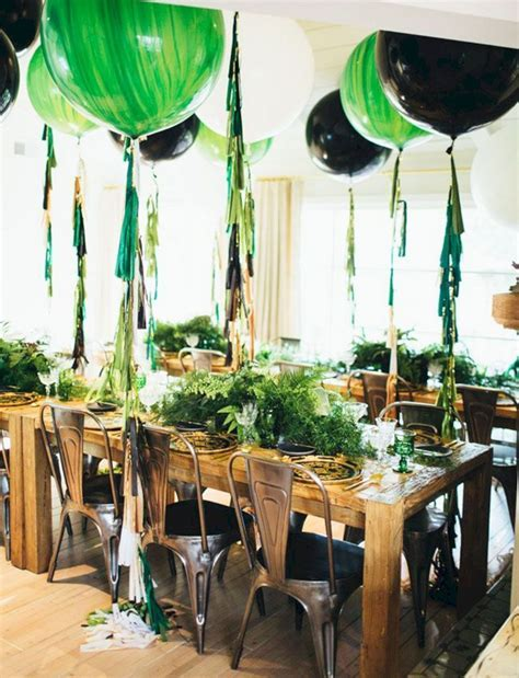 Green and Gold Party Decoration Ideas ? OOSILE