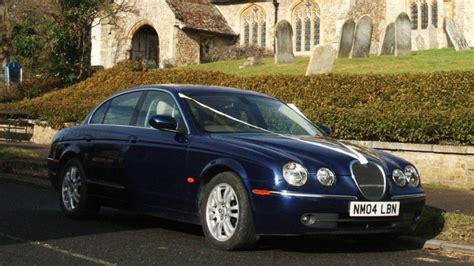 Wedding Car Types by Modern Jaguar S Type Wedding Car Hire Royston Hertfordshire