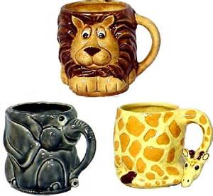 Cute Animal Mugs cute animal mugs art lessons pinterest