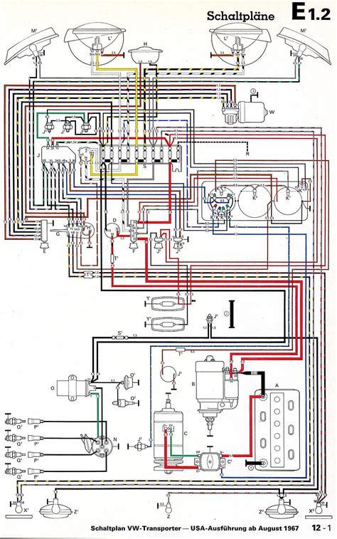 1968 Vw Bus Wiring Diagram Kombi Ideas Vw Bus