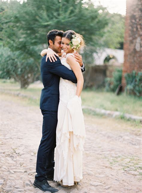 Backyard Wedding Party Ideas Rustic Spanish Wedding Inspiration