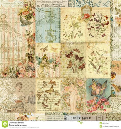 vintage picture collage vintage collage wallpaper wallpaperhdc