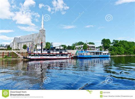 boat graphics ottawa gatineau boat tours on the ottawa river editorial stock