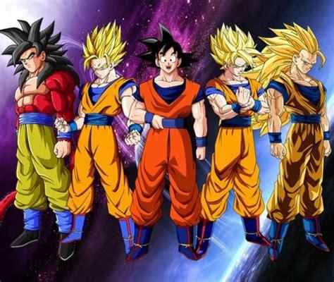 imagenes de goku todas las transformaciones todas las transformaciones de goku dragon ball