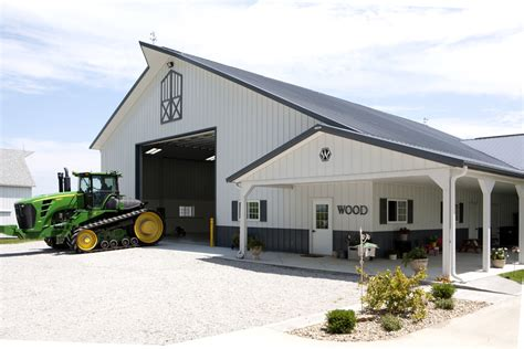 Home Shop Buildings by Morton Buildings Farm Building In Illinois Farm