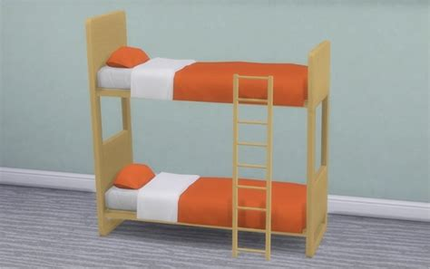 4 bed bunk bed ul contrast bunk bed frames at veranka 187 sims 4 updates