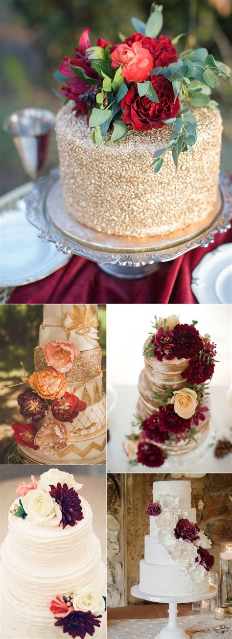 Simple Wedding Cake Ideas For Fall 32 amazing wedding cakes for fall