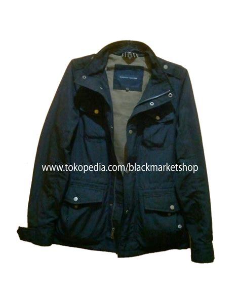 jual jaket parka hilfiger original black market