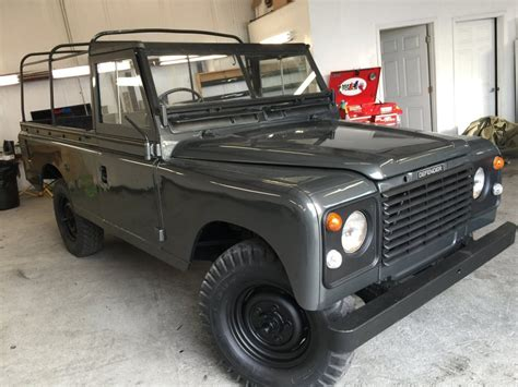 80s land rover 1980 land rover series pre defender truck
