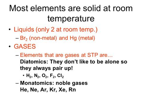 metals that are liquid at room temperature period 7 1 period 4 halogen family ppt