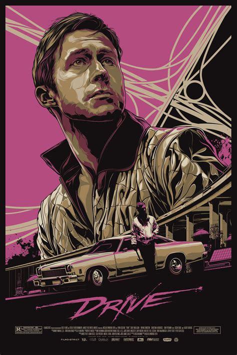 drive poster ken taylor illustration and design melbourne australia