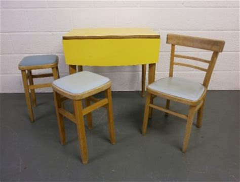 vintage 1950s 60s kitchen table and chairs retro cafe