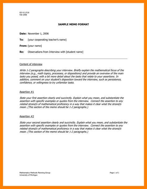 9 Memorandum Sle Edu Techation Business Memo Template