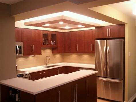 creative design home remodeling pop ceiling design for kitchen simple natural wooden