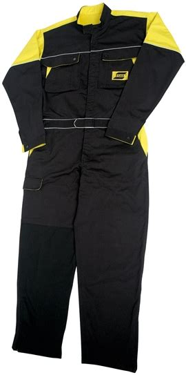Koko Overall Yellow palosuojattu hitsaushaalari esab industria center