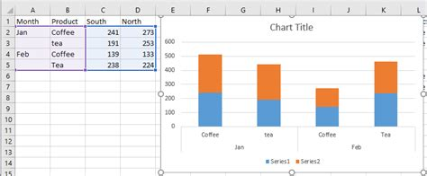 how to use pivot table in excel how to create stacked column chart from a pivot table in